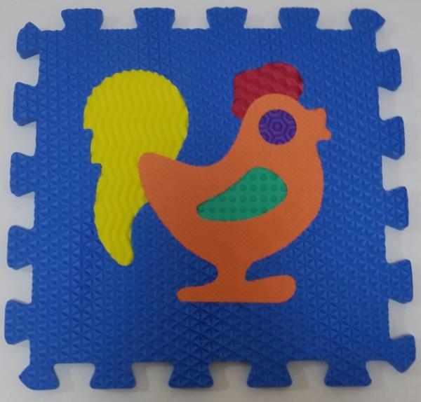 Set puzzel 10 piese cu animale 31/31 cm 9