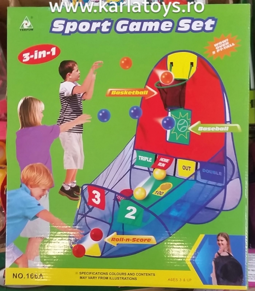 Sport Game set 3 in 1 0