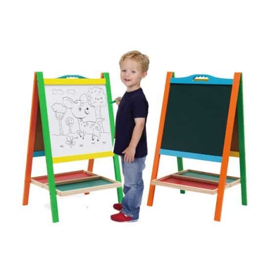 Tabla educativa copii 2 in 1 cu suport 0