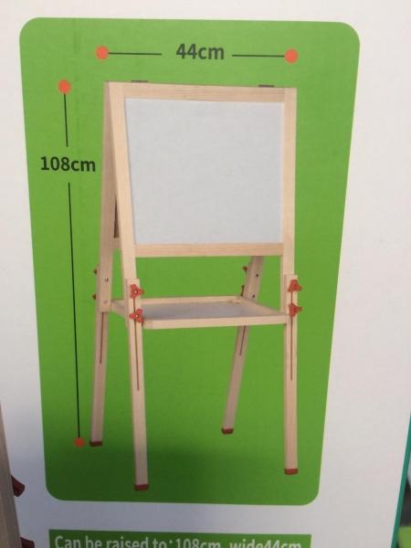 Tabla magnetica din lemn 2 fete Mare 1