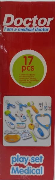 Trusa Doctor troler cu afisaj copii - 17 accesorii 5