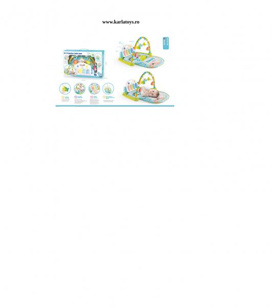 Saltea activitatii Baby Piano Gym cu telecomanda 9